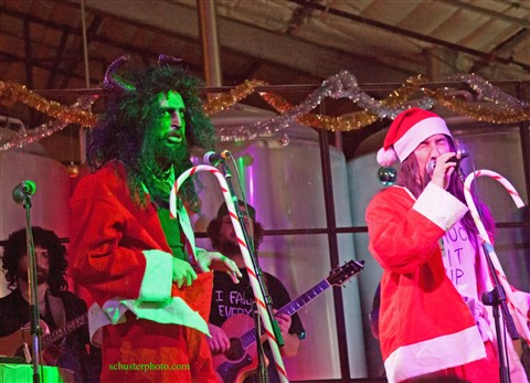 karl krampus and wild bill austin honky tonk holidaze