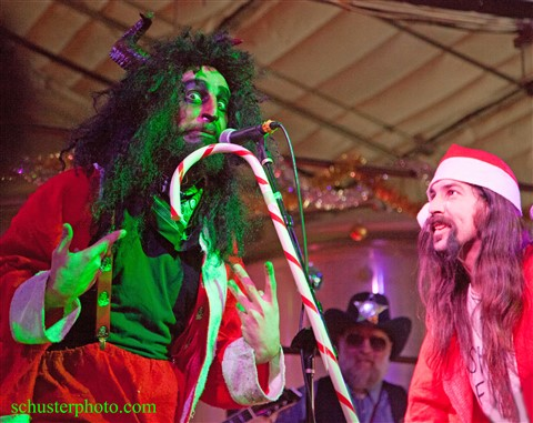 karl krampus and wild bill austin honky tonk holidaze 2014 abgb