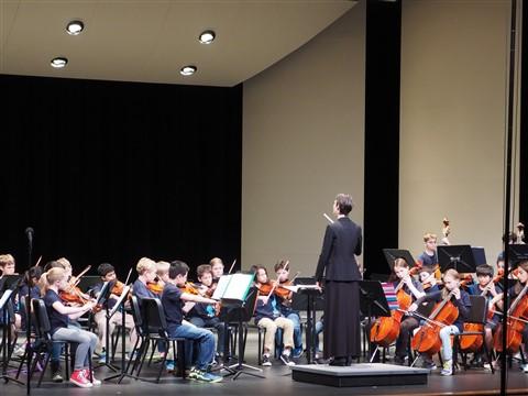 HCMS beginner orchestra 2014
