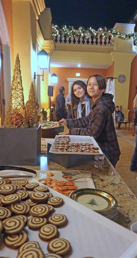 christmas cookie buffet hotel granduca austin