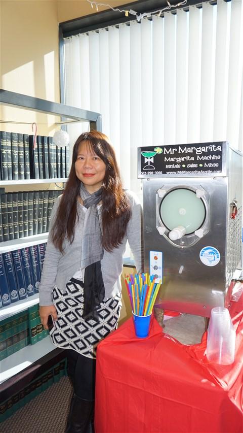margarita machine and law books