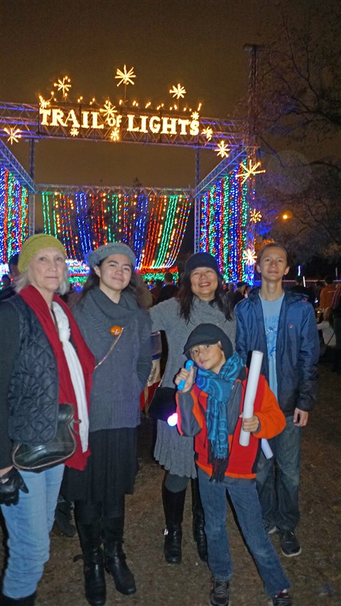 trail of lights 2016