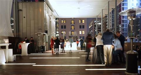 Austin Contemporary art jones center rooftop