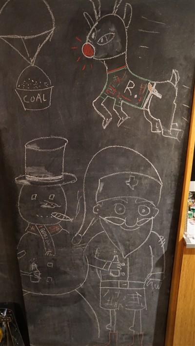 paul schuster christmas chalkboard art 2016