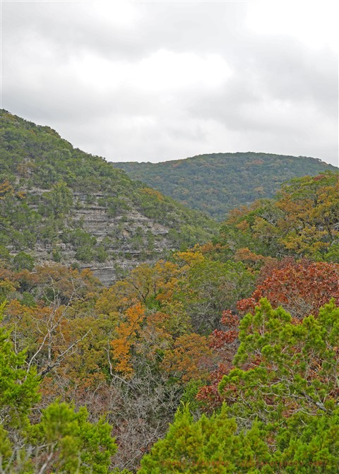 lost maples camping texas hill country fall 2017