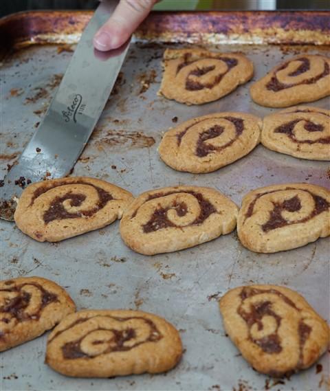 grandma schuster date pinwheel cookie
