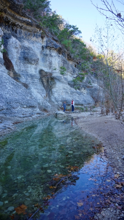 hiking texas stte park lost maples