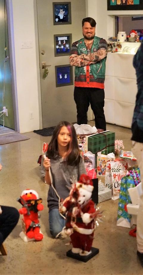 creepy animatronic christmas doll