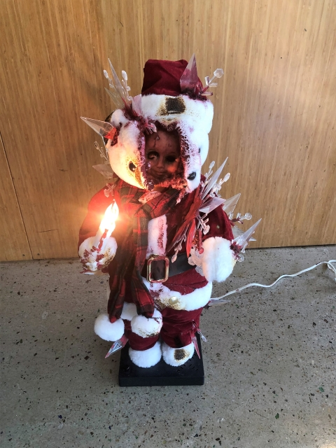 christmas zombie doll robot