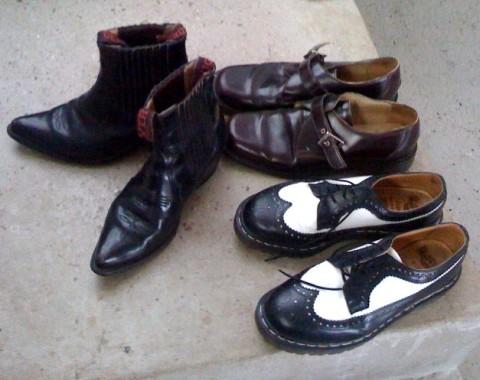 thrift store shoe find
