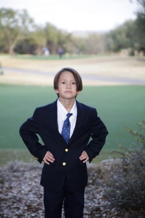 confident pose