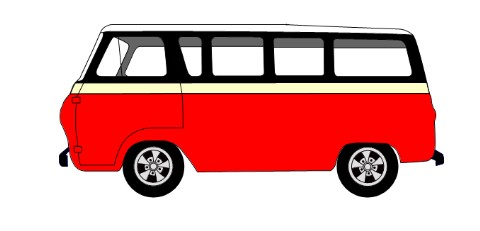 1965 ford econoline van