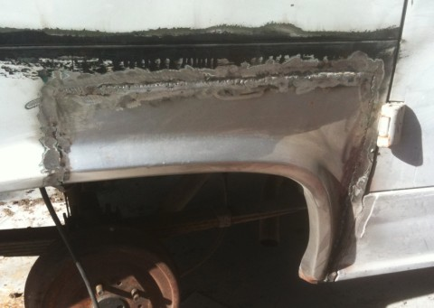 econoline sheet metal replacement