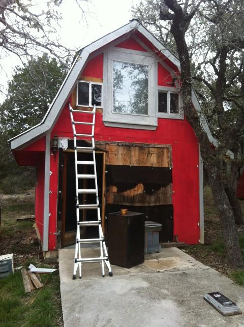 fischer wimberley texas barn project