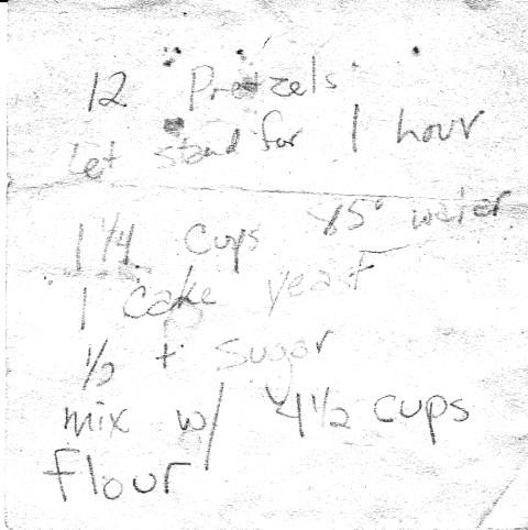 found pretzel recipe page 1