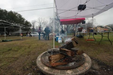 mardi gras fire pit shreveport