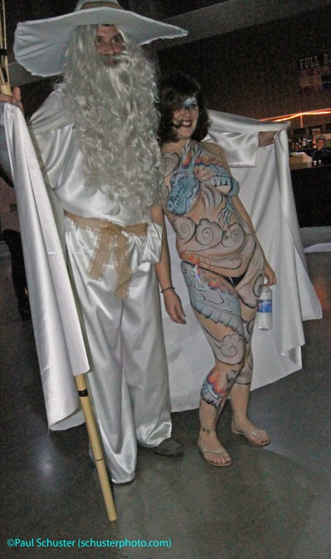 austin carnaval bodypaint girl body paint gandolf