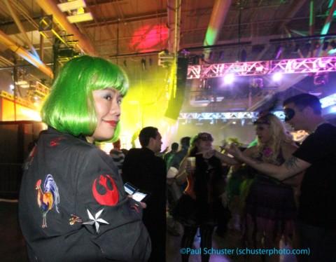 green wig carnaval austin