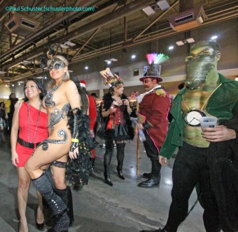 austin carnaval bodypaint