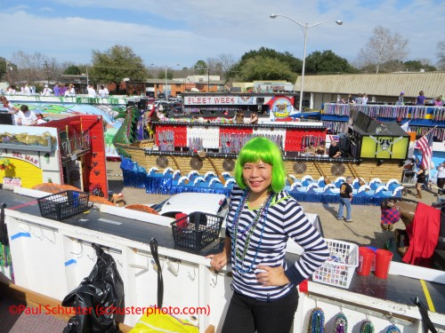 shreveport mardi gras highland parade madison garden float staging area