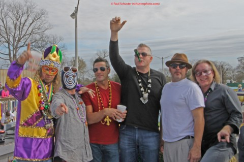 engle float mardi gras highland parade guys