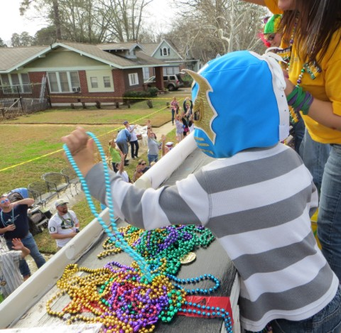 mardi gras parade highland shreveport