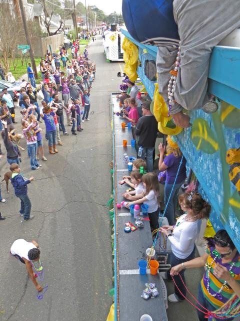 mardi gras highland parade