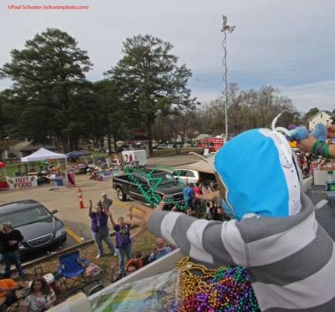 bead boy mardi gras highland parade shreveport