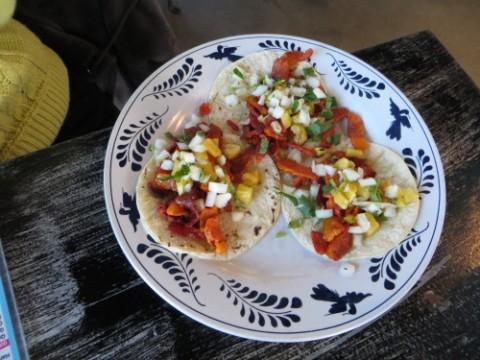tacos al pastor la gloria's ice house san antonio pearl brewery