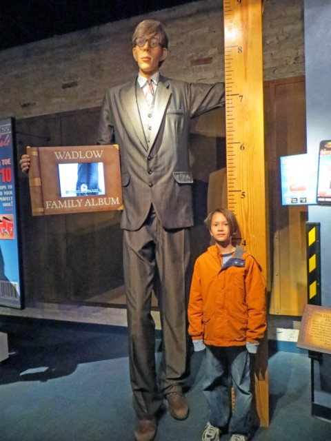 tallest man that ever lived ripley's believe it or not san antonio