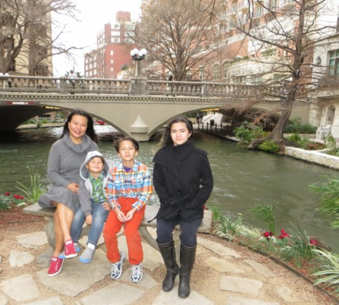san antonio riverwalk february 2013