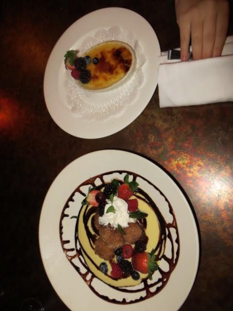 las ramblas dessert