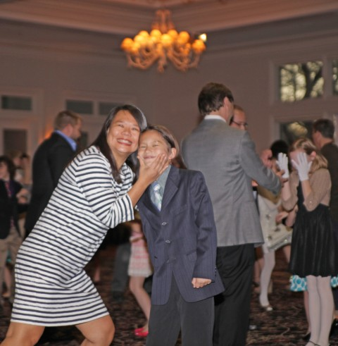 mother and son dance austin chaplin cotillion