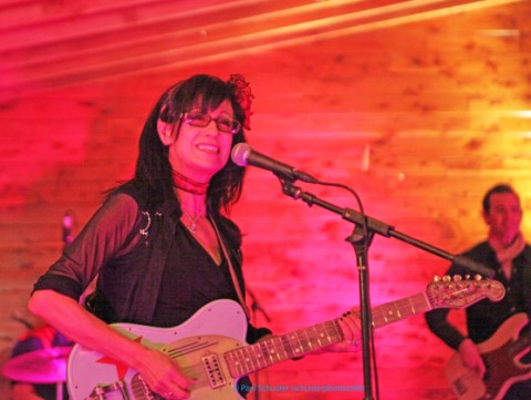 rosie flores austin rockabilly scoot inn music map party kut