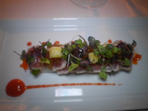 seared tuna french room dallas