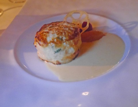 french room dallas crab cake