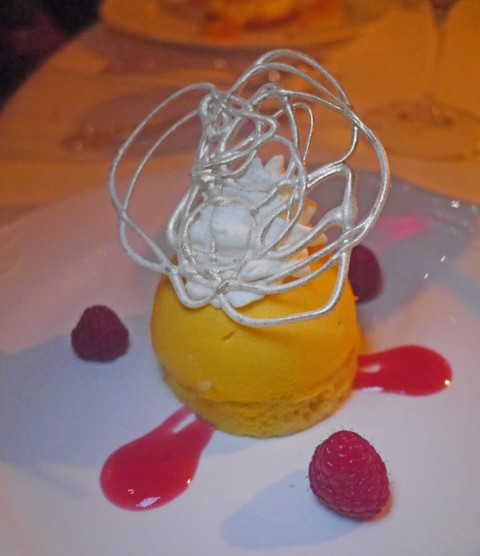 dessert from french room dallas