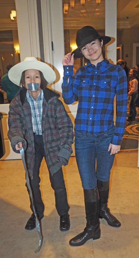 austin cotillion western duct tape night