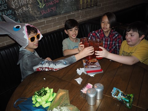gourdogh's shirley temples cheers