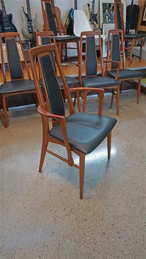 koefoeds hornslet  dining chairs