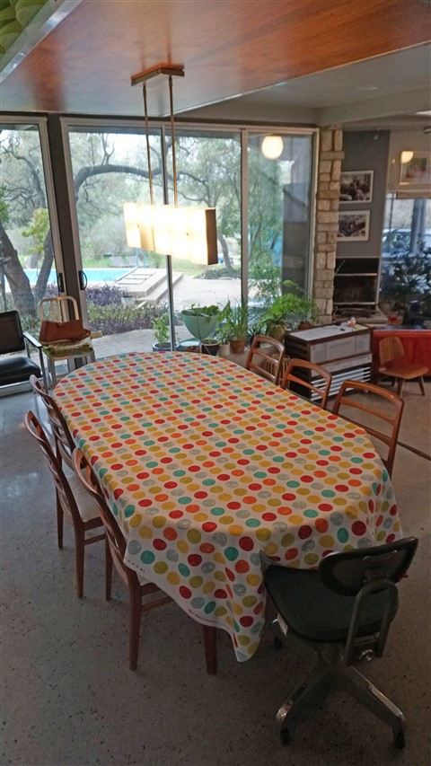 danish  dining table sweedish mcm chairs