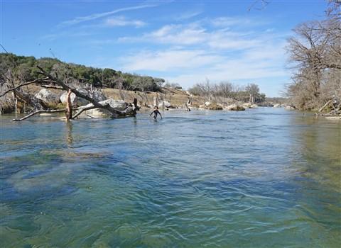 blanco river rapids 2-18-2017