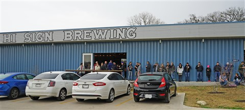 Hi Sign Brewery Austin TX