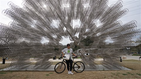 austin ai weiwei forever bicycles hike and bike path