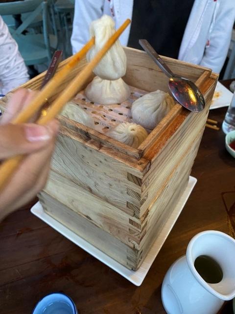 steamed soupy dumplings lin austin texas chinese