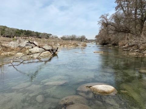 wimberley blanco river rapids