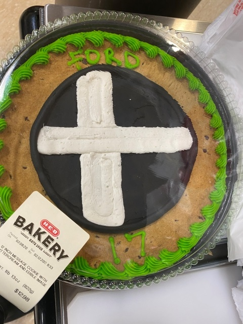 smash bros tournament cookie cake