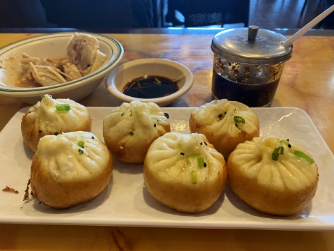 houston chinatown one dragon crispy pork buns