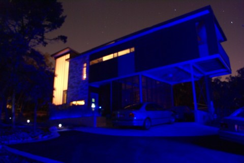 austinmodhouse at night