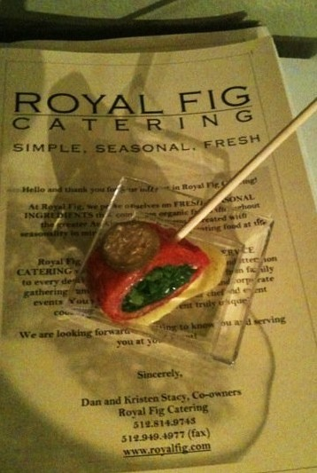 royal fig carpaccio